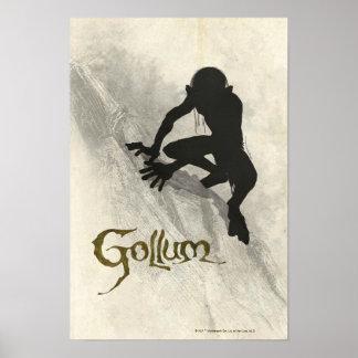 Gollum Concept Sketch Poster