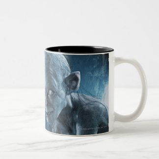 Gollum in Cave Two-Tone Coffee Mug