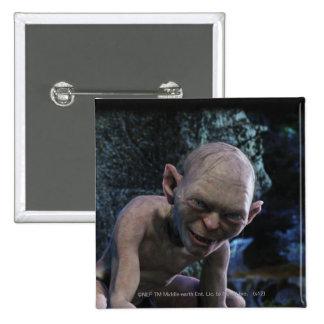 Gollum with Smile 15 Cm Square Badge