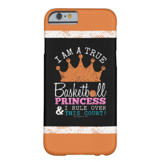 Golly Girls: Basketball Princess Rule This Court Barely There iPhone 6 Case