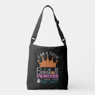 Golly Girls: Basketball Princess Rule This Court Tote Bag