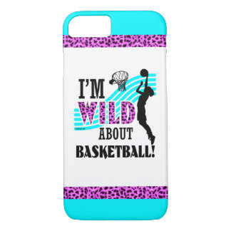 Golly Girls: I'm WILD about Basketball iPhone 7 Case