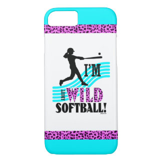 Golly Girls: I'm WILD about Softball iPhone 7 Case