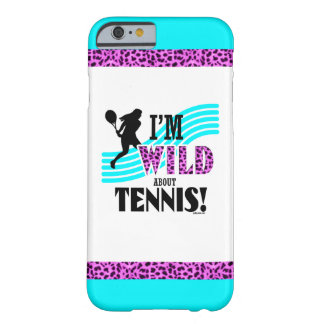 Golly Girls: I'm WILD about TENNIS Barely There iPhone 6 Case