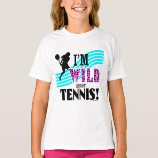 Golly Girls: I'm WILD about TENNIS T-Shirt