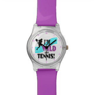 Golly Girls: I'm WILD about TENNIS Wrist Watch