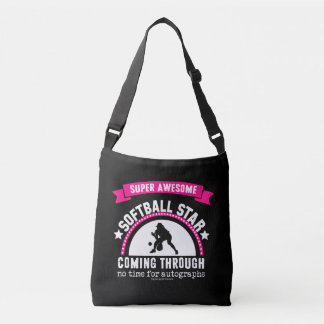 Golly Girls: Super Awesome Softball Star Tote Bag