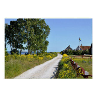 Goltand Island Sweden Baltic Seascape Poster