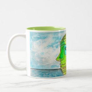 """Ġolu il-Gardjolu"" - Malta Two-Tone Coffee Mug"