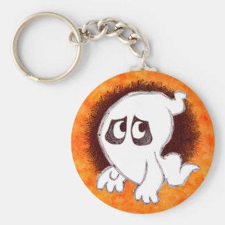 Gomer the ghost Keychain