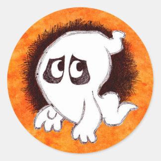 Gomer the ghost sticker