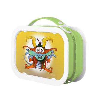 GOMMO ALIEN GREEN yubo Lunch Box