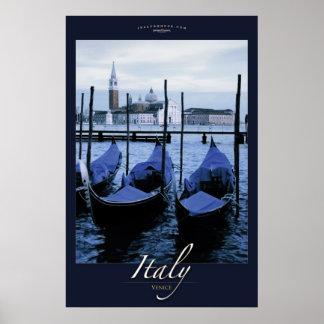 Gondoals of Venice Poster