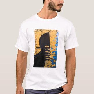 Gondola and water ripples, Italy T-Shirt