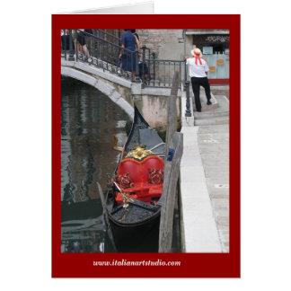 Gondola Card