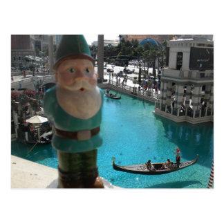 Gondola Gnome I Postcard
