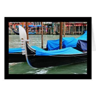 Gondola in Venice, Italy Card