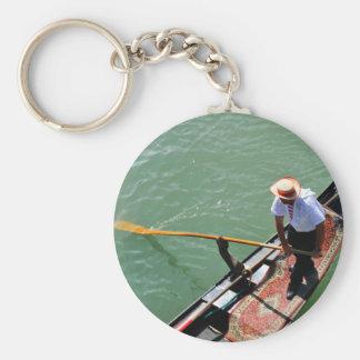 Gondola in Venice, Italy Key Ring