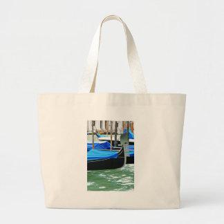 Gondola in Venice, Italy Large Tote Bag
