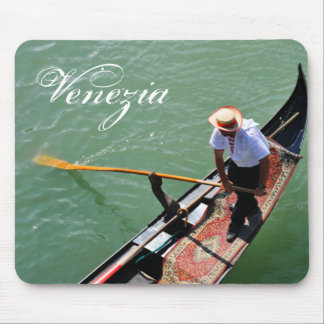 Gondola in Venice, Italy Mouse Pad