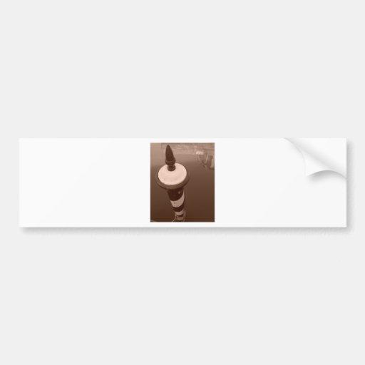 Gondola Post Bumper Stickers