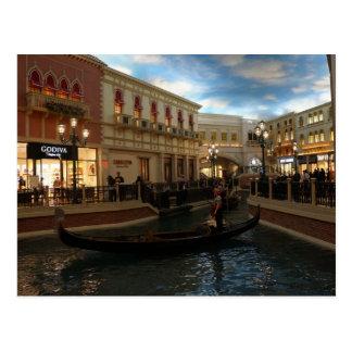 Gondola Ride at The Venetian Postcard