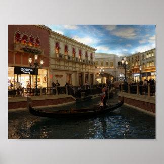 Gondola Ride at The Venetian Poster