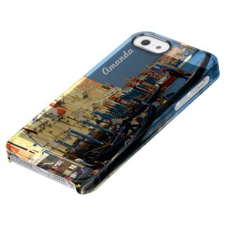 Gondola Station in Venice, Italy Clear iPhone SE/5/5s Case