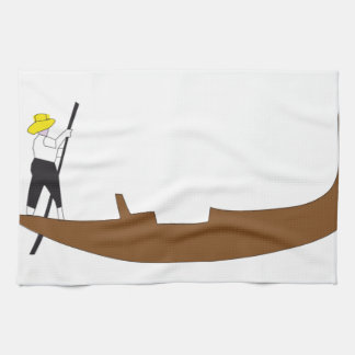 Gondola Tea Towel