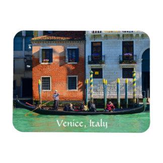 Gondola Trip on Canal Grande Rectangular Photo Magnet