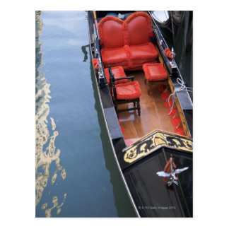 Gondola Venice Italy Postcard