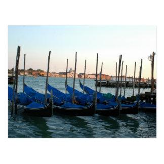 Gondola Venice Postcard