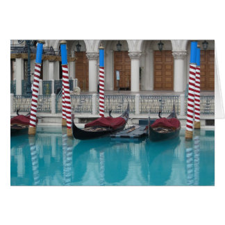 Gondola's at the Venetian, Las Vegas Card