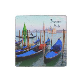 Gondolas In Sestiere San Marco - Venice, Italy Stone Magnet