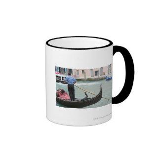 Gondolas in Venice canal Mug