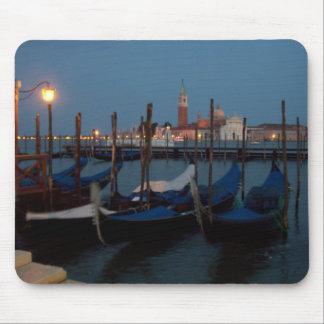 Gondolas in Venice Mouse Pad
