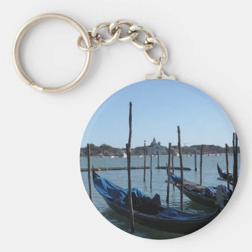 Gondolas of Venice Key Chain