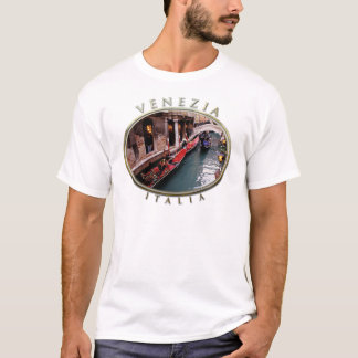 Gondolas on a Venetian Canal T-Shirt