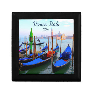 Gondolas On The Giudecca Canal Gift Box