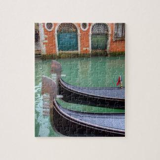 Gondolas on the Grand Canal, Venice Jigsaw Puzzle