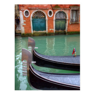 Gondolas on the Grand Canal, Venice Postcard