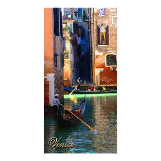 Gondolas Photo Card