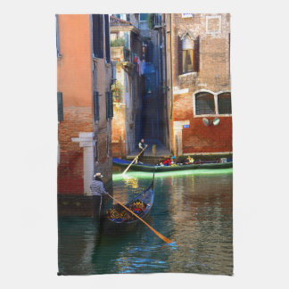 Gondolas Tea Towel