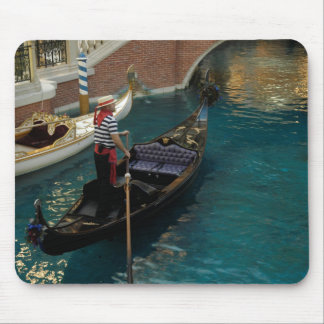 Gondolir in Venetian Las Vegas Mouse Pad