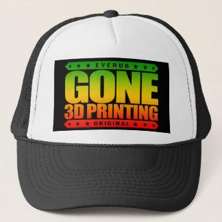 GONE 3D PRINTING - I Love Futuristic Technologies Trucker Hat