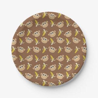 Gone Bananas Paper Plate