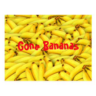 Gone Bananas Postcard