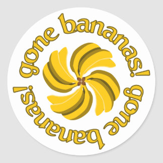 Gone Bananas! stickers