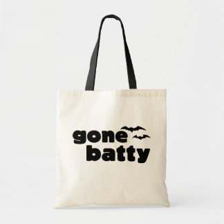 Gone Batty Tote Bag