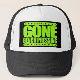 GONE BENCH PRESSING - Love Strength & Conditioning Trucker Hat
